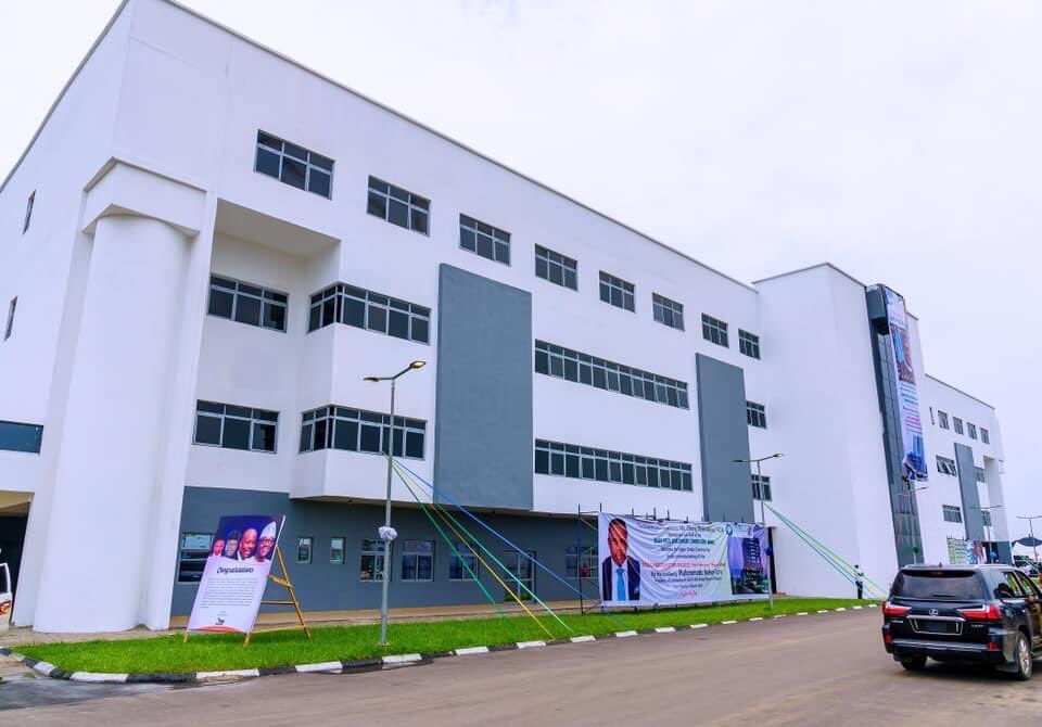 Newly Completed 13 Floor Twin Tower Ultra Modern Headquarters Building of the Niger Delta Development Commission (NDDC)