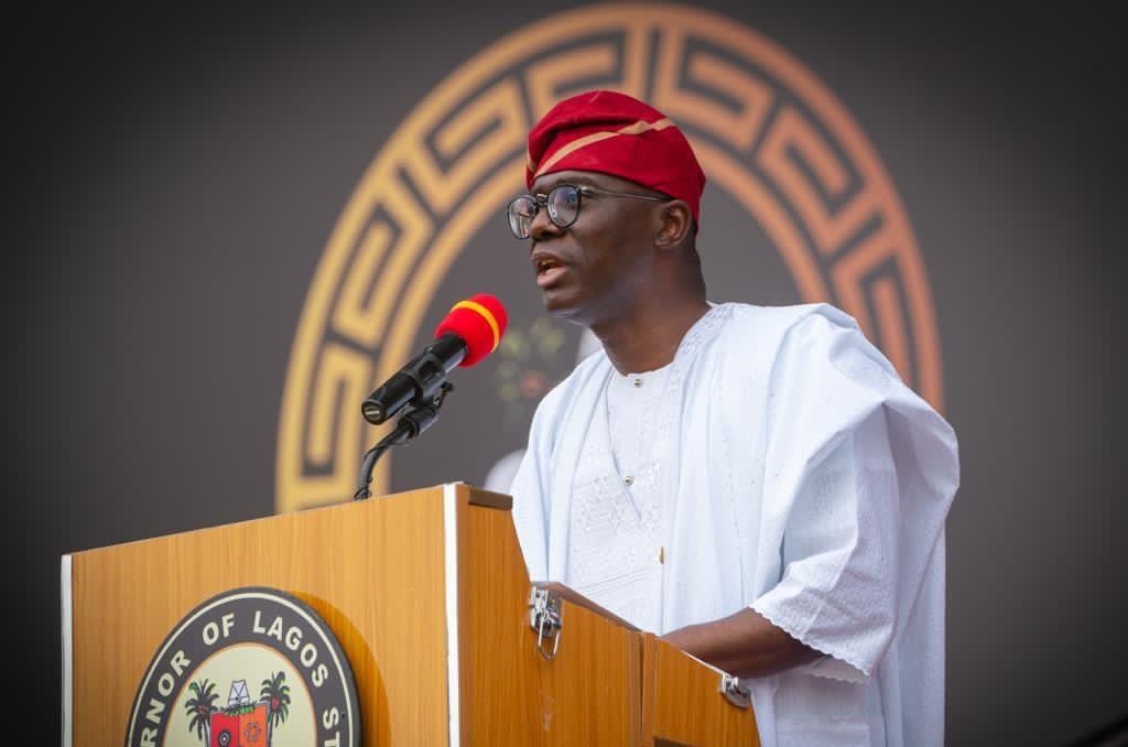 Lagos State Governor, Babajide Sanwo-Olu [PHOTO CREDIT: @jidesanwoolu]