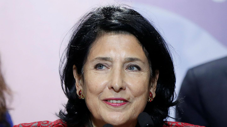 Georgian President Salome Zurabishvili