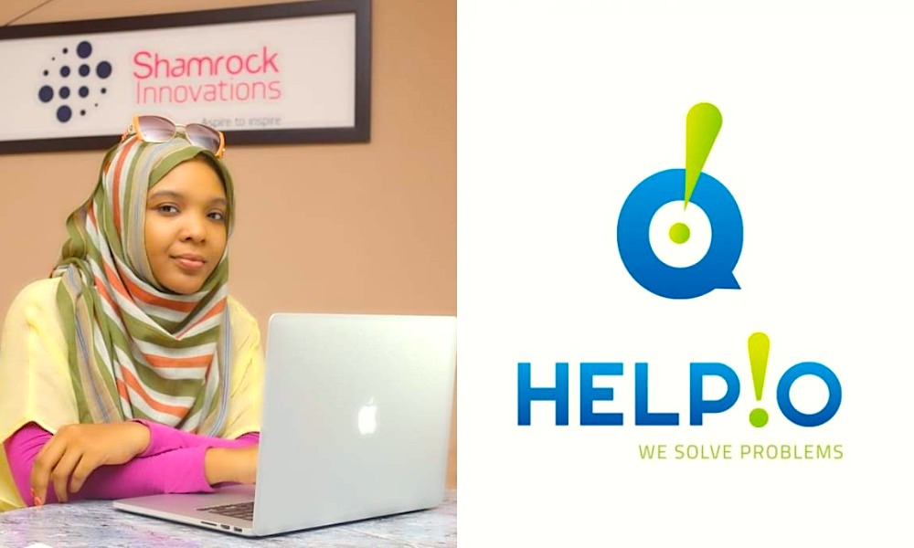 Saadat Aliyu, CEO of Shamrock Innovations and creator of the HELPIO app.