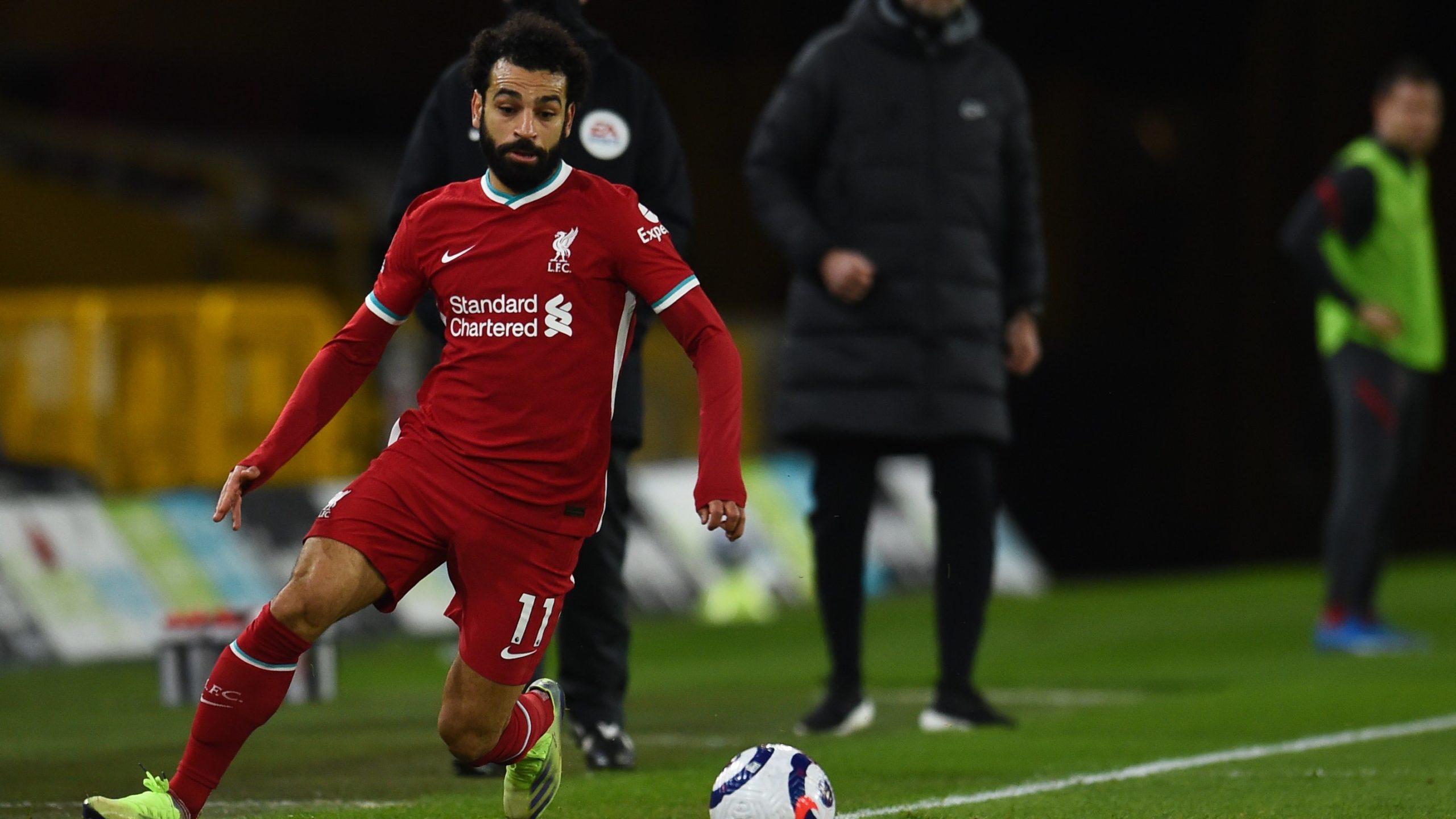 Salah on the ball