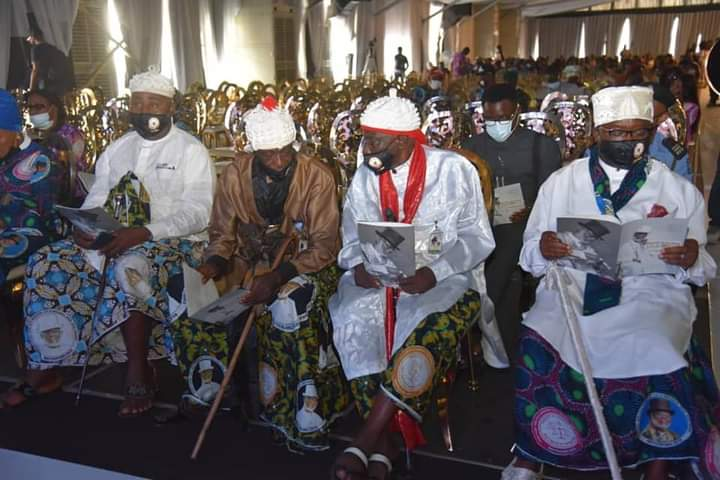 Traditional rulers came out in their numbers for late O.B. Lulu-Briggs