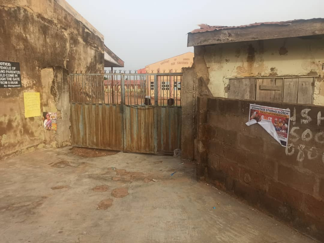 Gatekeeper yet to open the gate at St. Barnabas Secondary School Maraba