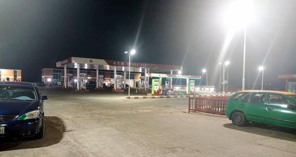 AYM Shafa Lugbe outlet not selling fuel (PHOTO CREDIT: Mary Izuaka)
