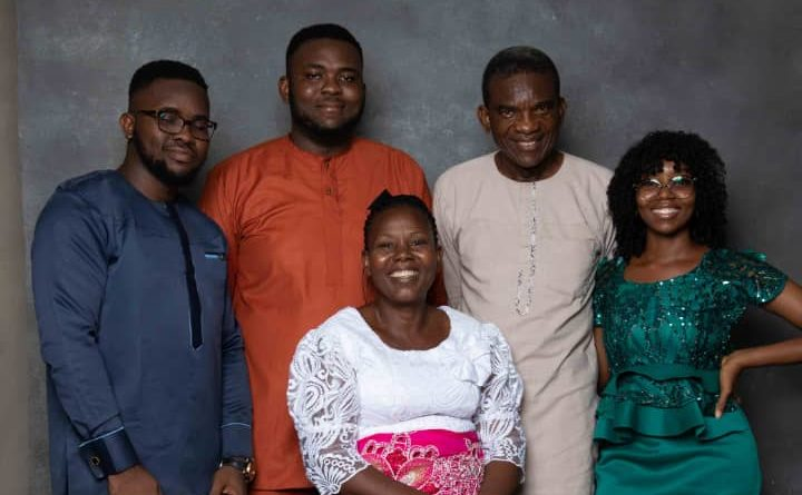 Mr Okwudili's family