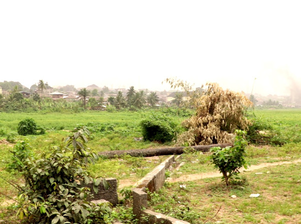 Dangerous area & Abandoned Unilever Pipes