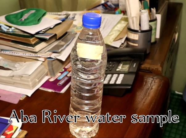 Water Sample for Analysis