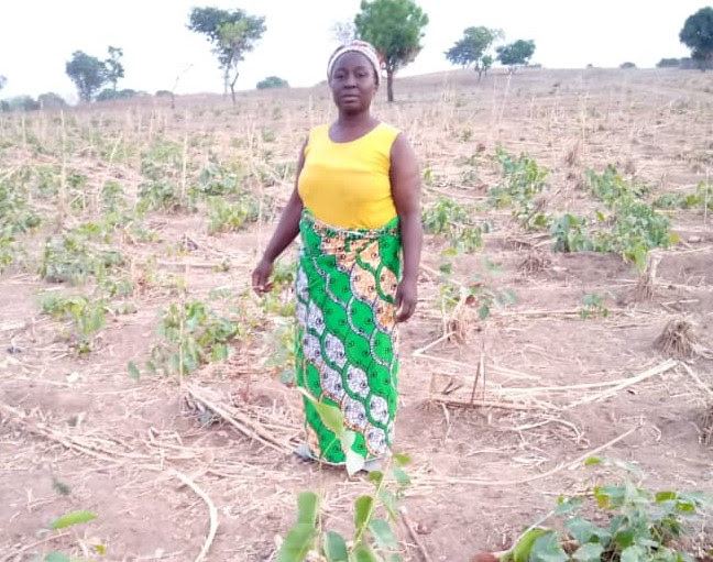 Godwin Susan: The year 2020 came with shocks for her and other women farmers/ Photo Credit: Yekeen Akinwale