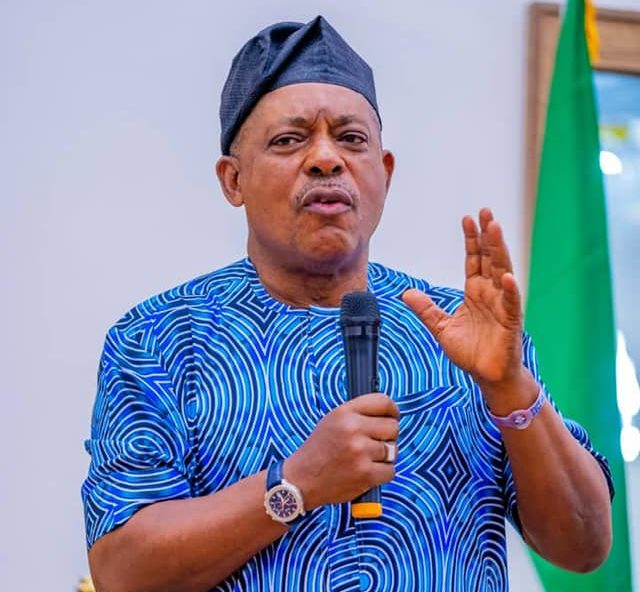 The National Chairman of the Peoples Democratic Party, PDP Chief Uche Secondus