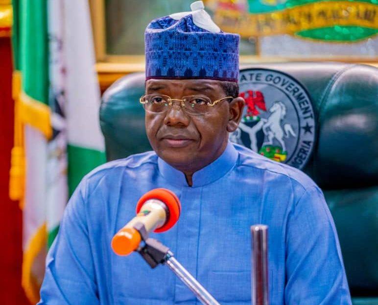 Governor Bello Matawalle of Zamfara state. [PHOTO CREDIT: @officialdrbellomatawalle]
