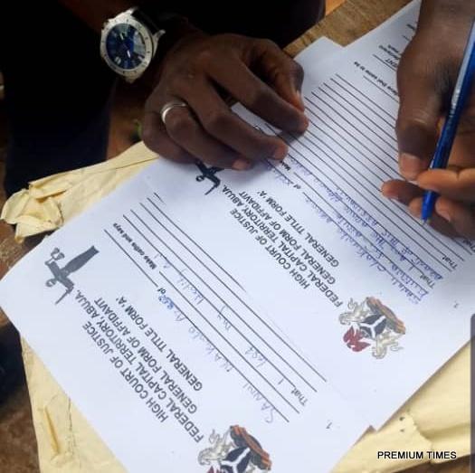 Court official issuing affidavits in Kubwa F.C.T despite Strike