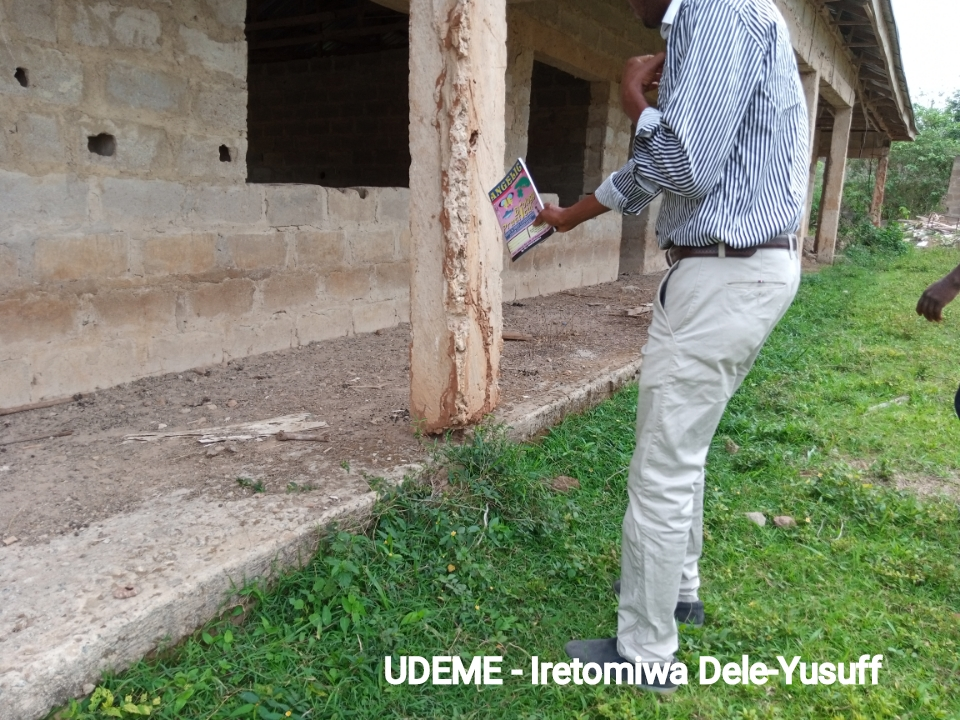 An abandoned termite infested building in Osi community high school, Osi Ekiti (1)