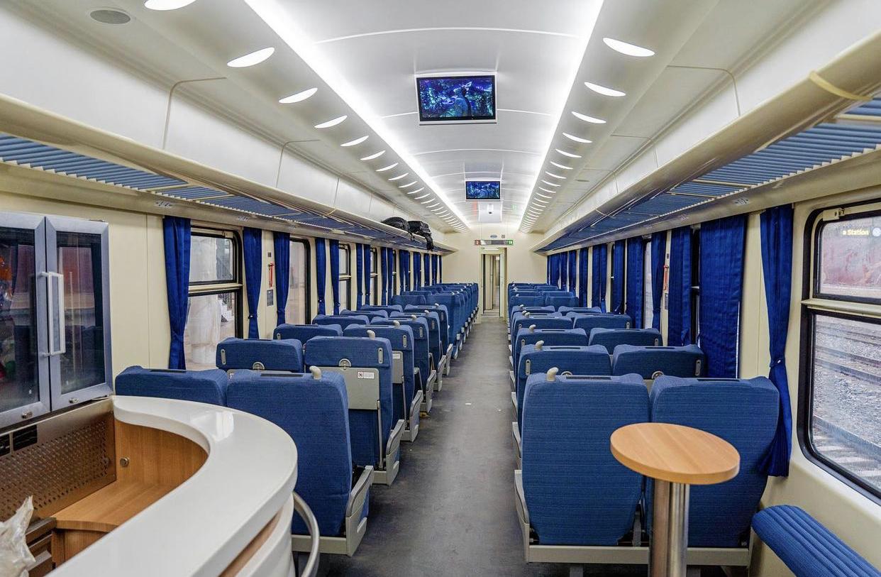 Buhari inaugurates Lagos-Ibadan rail project [Photo Credit: Dapoabiodunmfr-IG handle]
