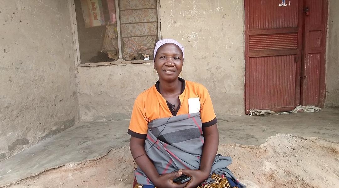 Sarah Albert, farmer in Awe LGA