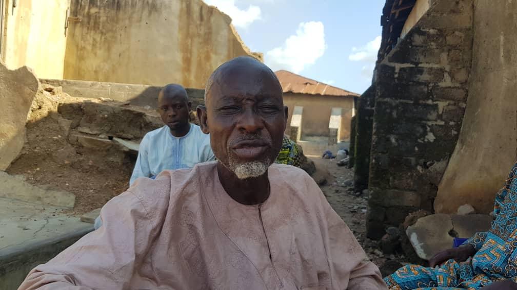 Bashiru Makinde, an elder statesman in Igangan community