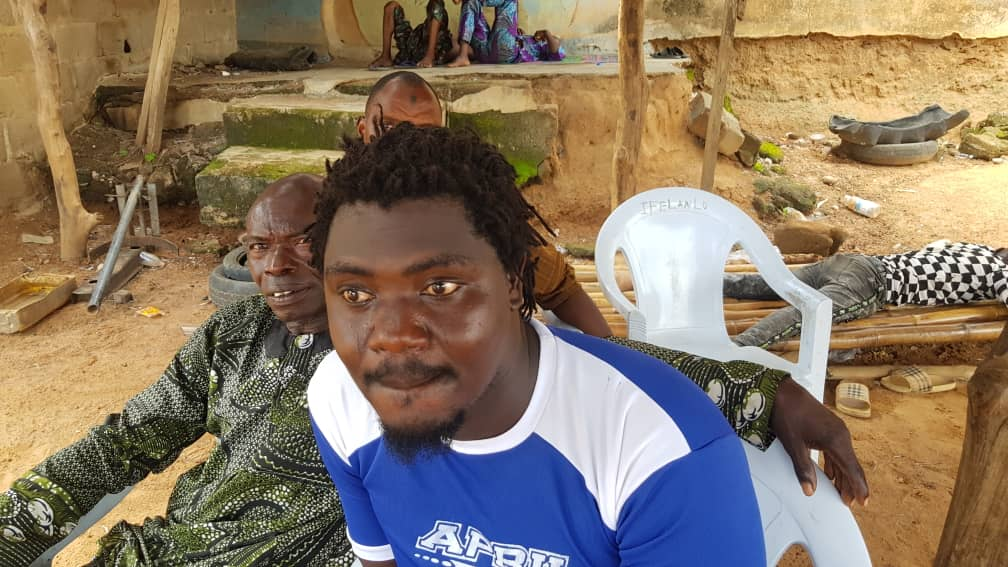 Wale Ayoola, one of the residents who lost his father during midnight attack in Igangan