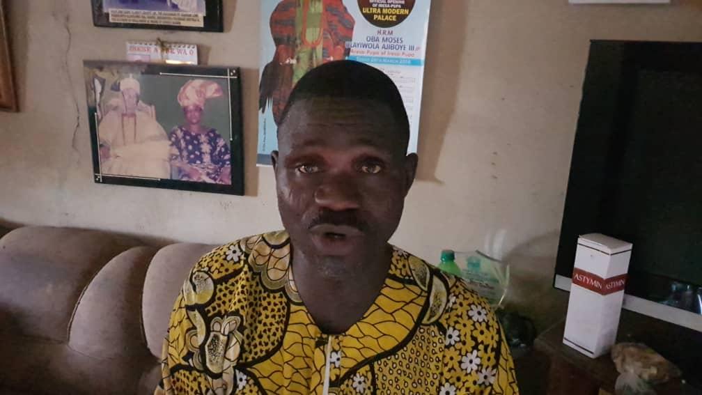 Kamarudeen Omoloye, the spokesperson of the Igangan monarch