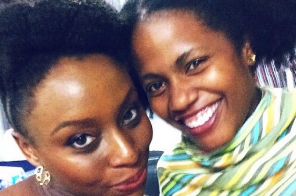 Chimamanda Adichie and Akwaeke Emezi