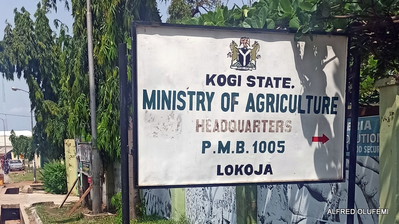 Kogi State ministry of agriculture signpost