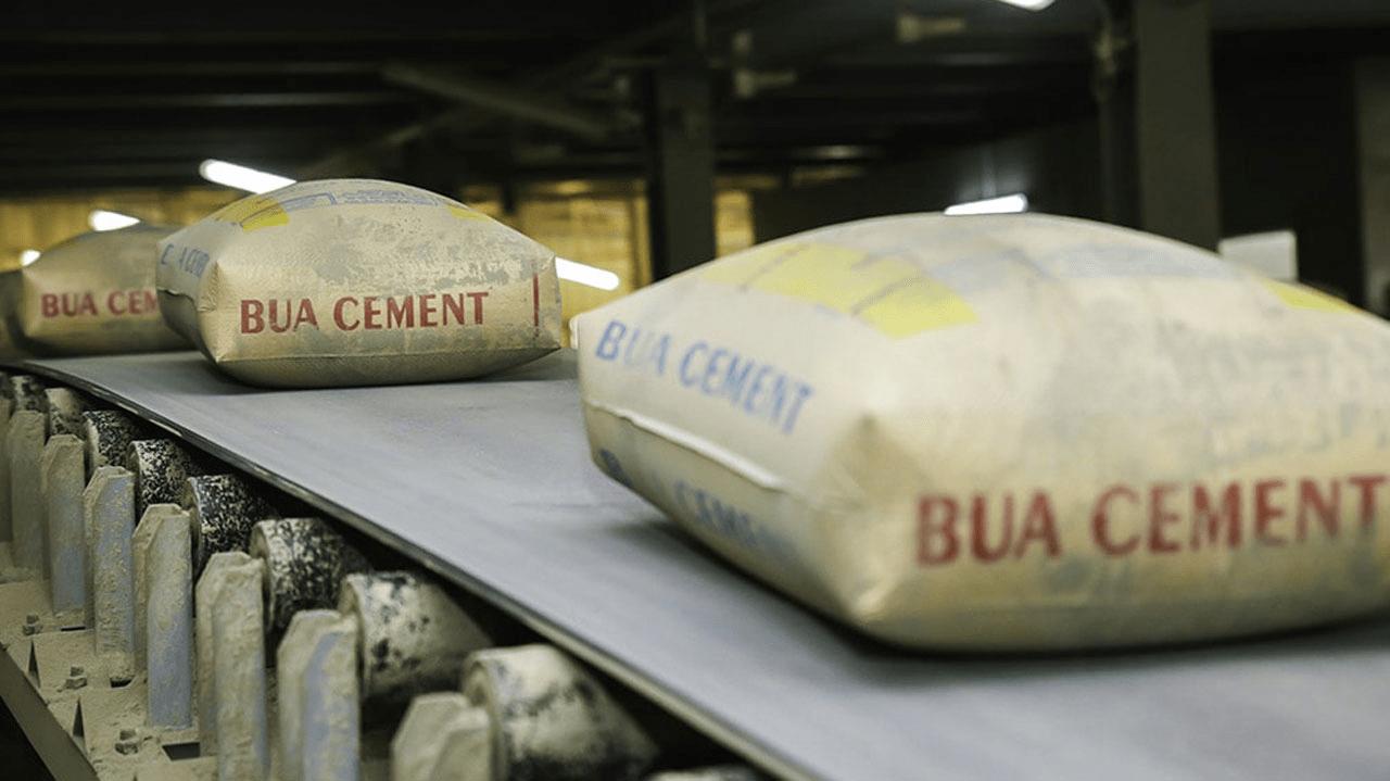 A BUA Cement factory
