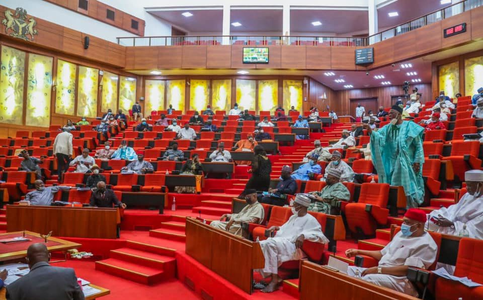 Senate Plenary [PHOTO CREDIT: @NgrSenate]