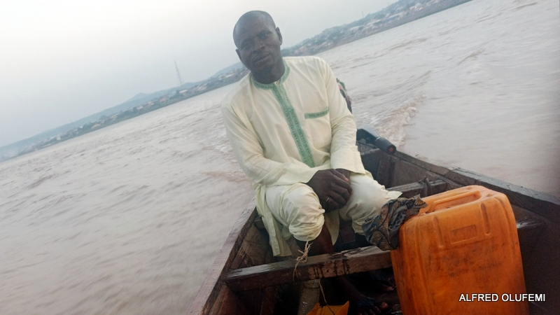 Jimba on the same boat with PREMIUM TIMES's Alfred Olufemi