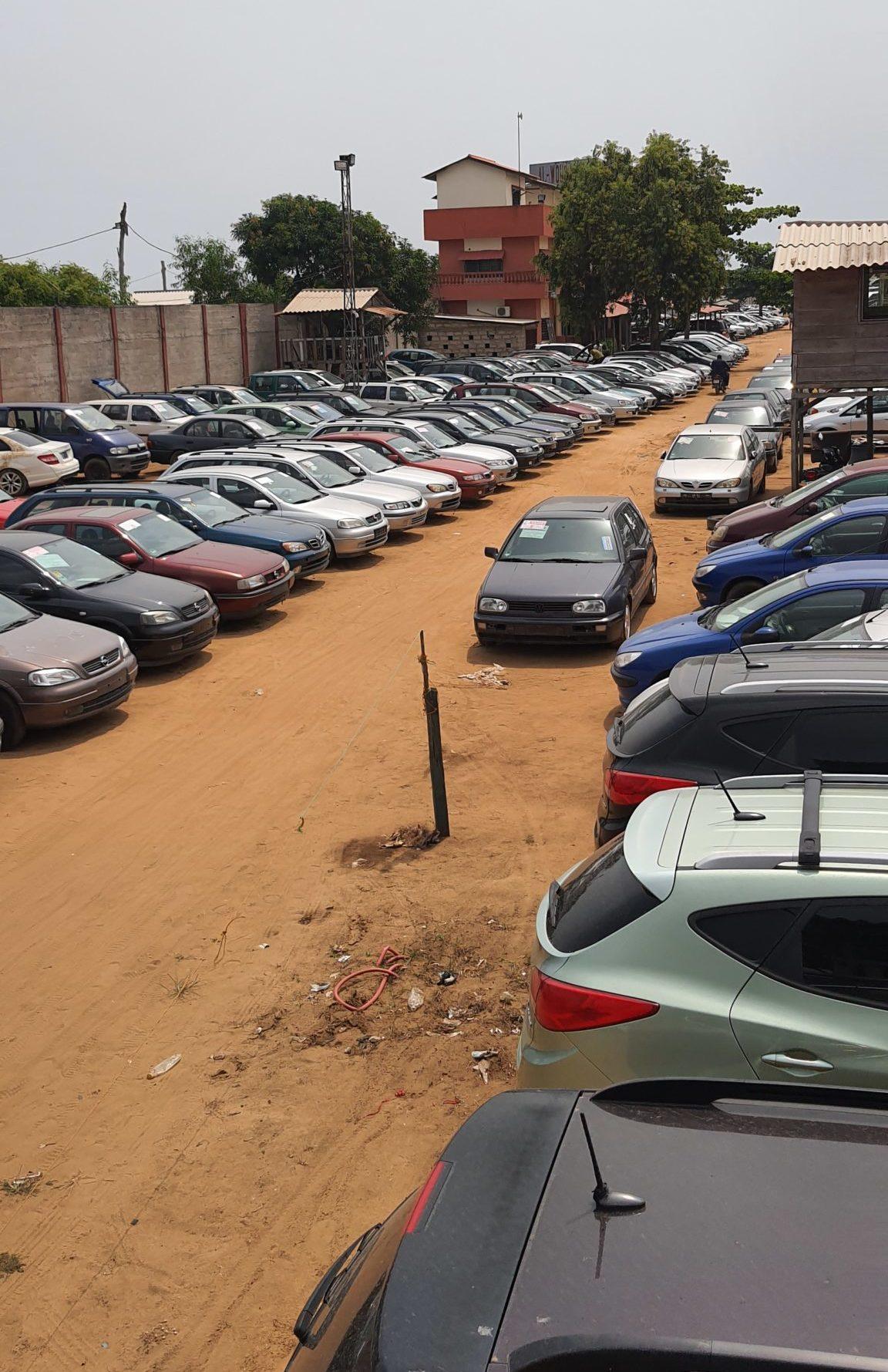 Car Market in Cotonou