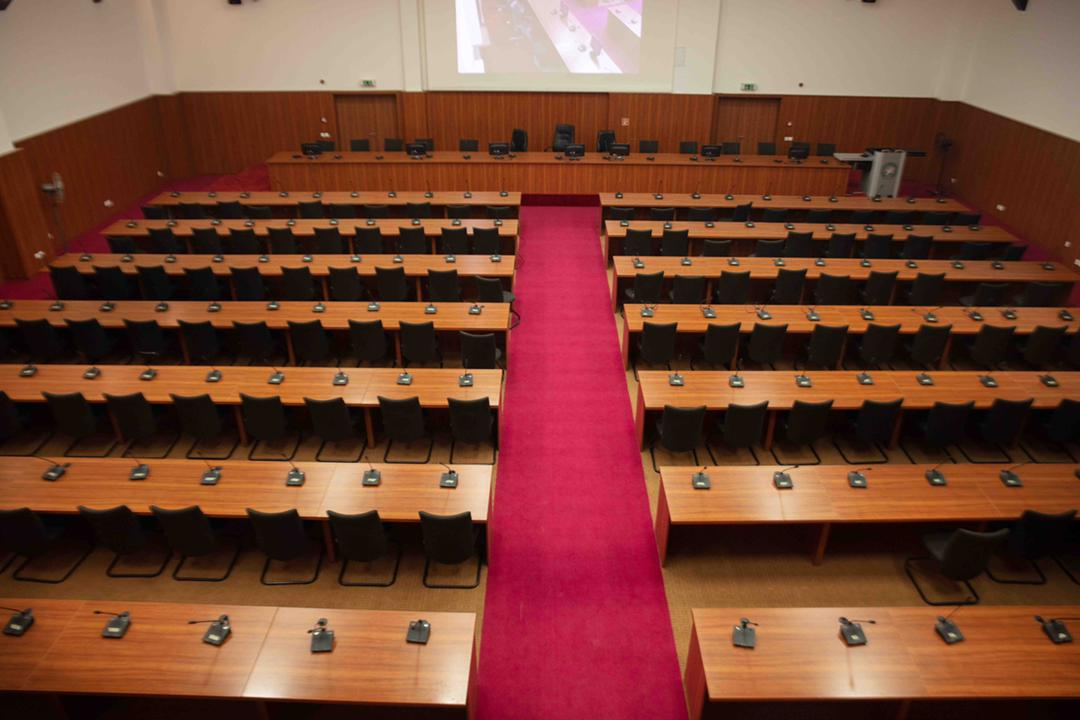 FCDA Conference Hall renovated by Cosgrove Investment Limited.
