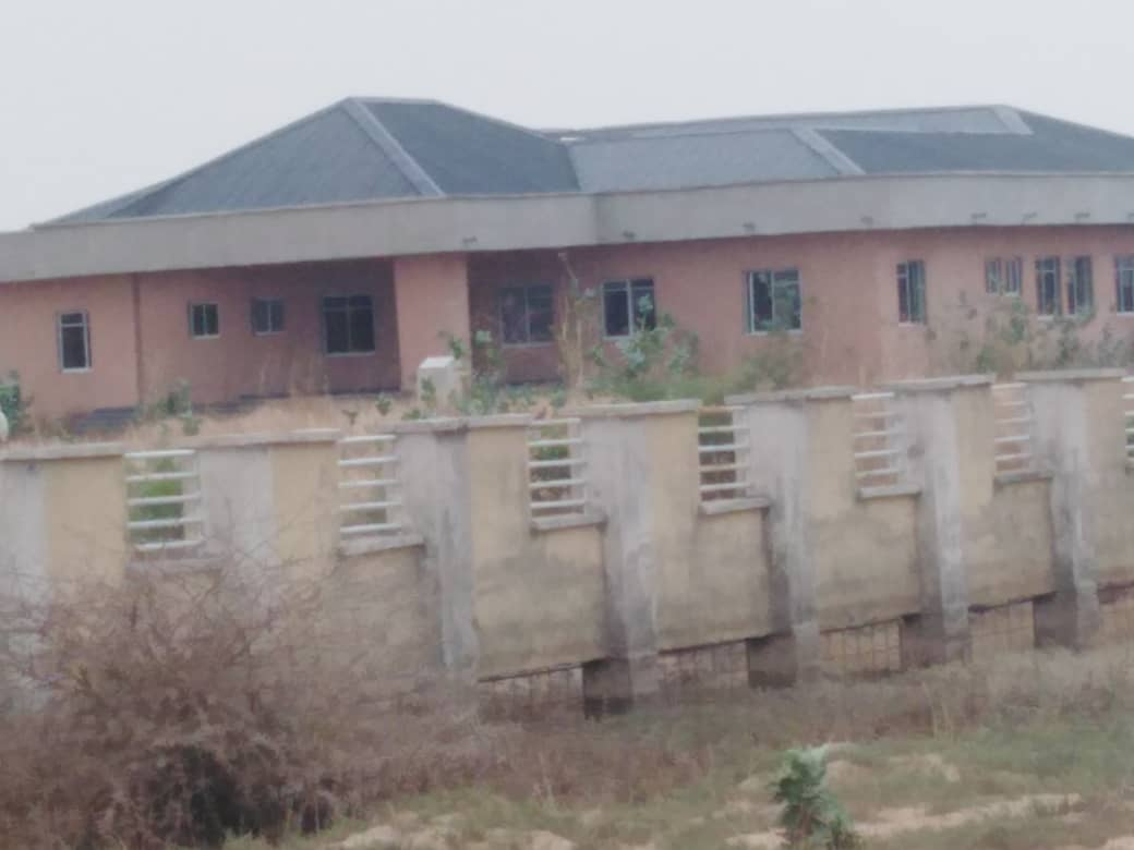 Another portion of the uncompleted Hadejia Specialist Hospital in Jigawa