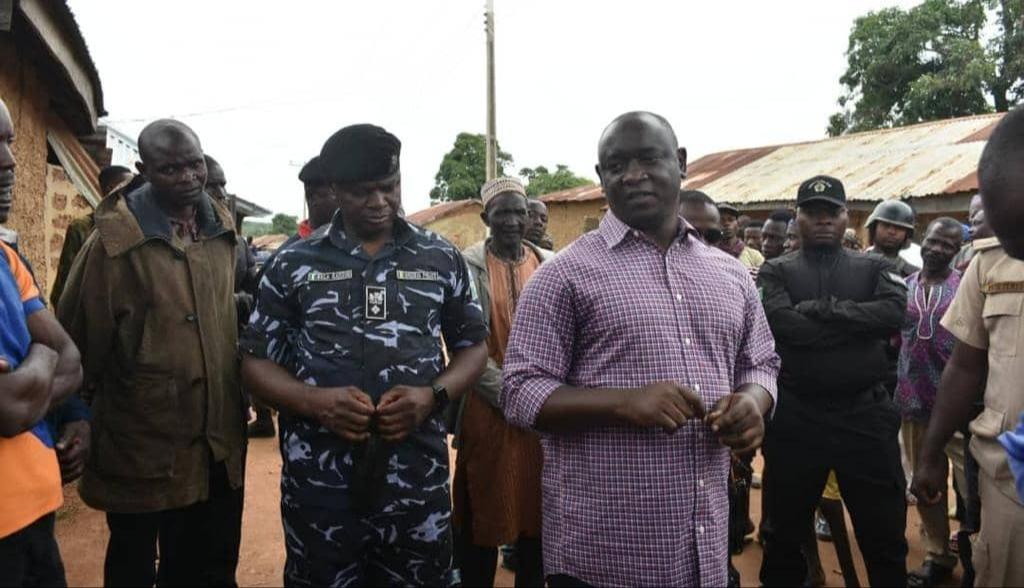 Commissioner for Internal Security, Samuel Aruwan