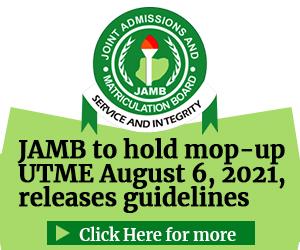 JAMB Ad