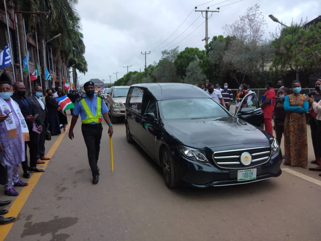 Lying-in-state ceremony of T.B Joshua in Lagos