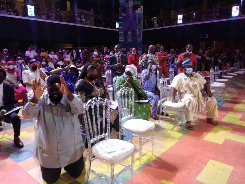 Family, followers mourn as T.B Joshua is buried in Lagos.