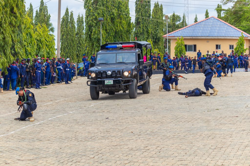 NSCDC armed female squad