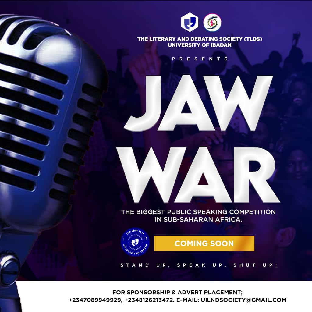 Jaw War 2021 starts in September and runs through to October