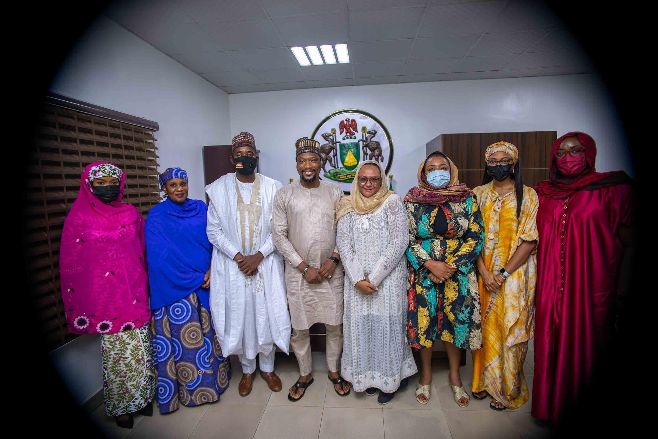 Jobberman courtesy visit to Habib Yahaya Hotoro, SSA Sustainable Development Goals to Kano State Government of Nigeria.