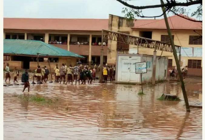 Odogunyan Junior Grammar School, Ikorodu. Photo Credit: Residents