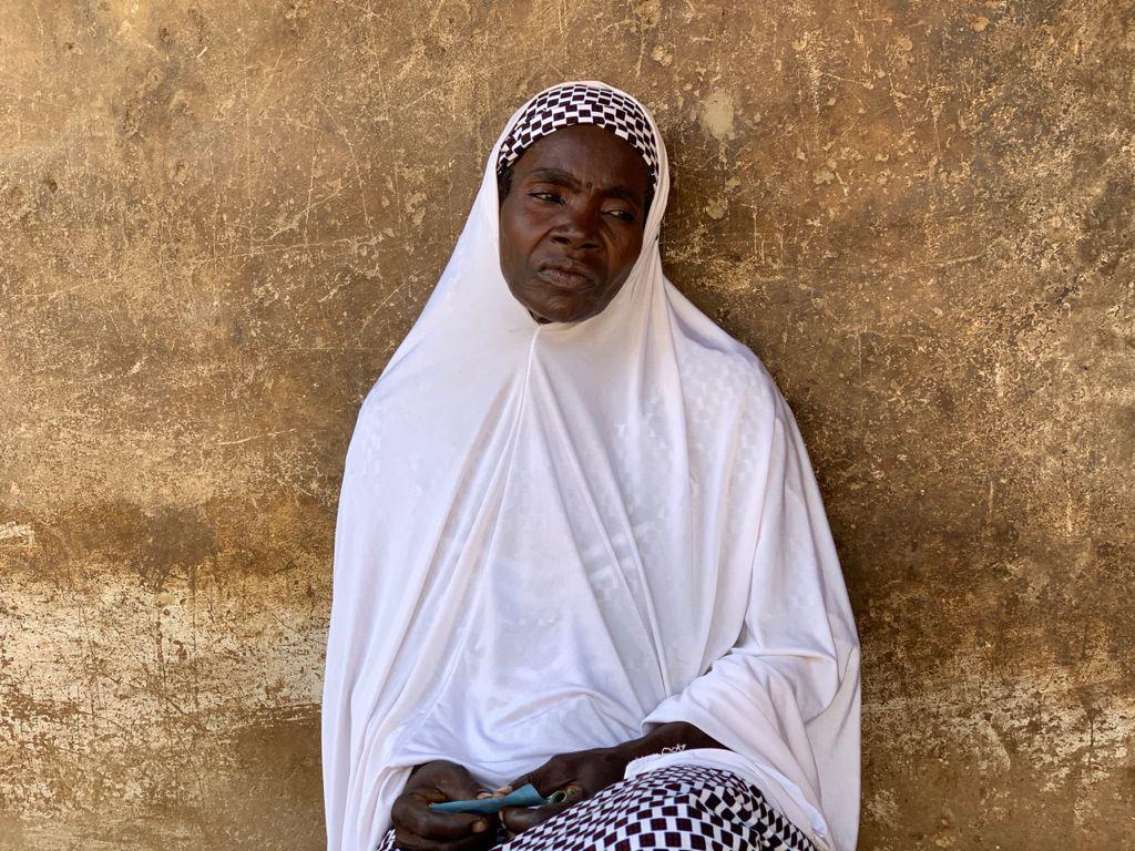Aminu Isah, a survivor in Abinsi community