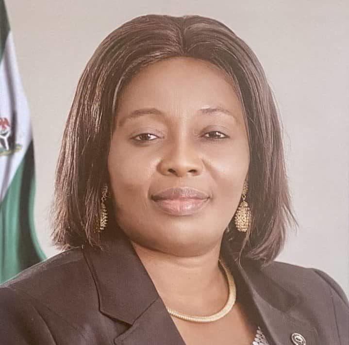 Mrs Glory Edet, Commissioner for Agriculture, Akwa Ibom State
