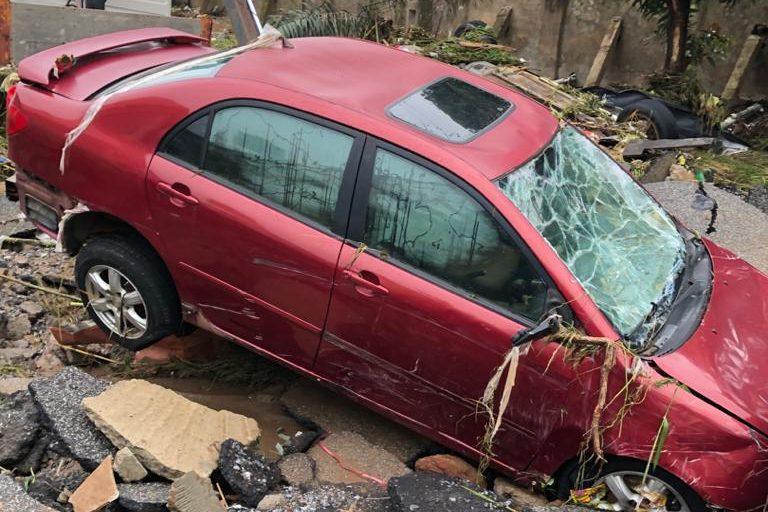Car Damaged by Flood