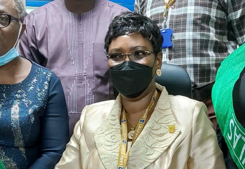 The newly appointed vice-chancellor of the Lagos State University (LASU), Ojo, Ibiyemi Olatunji-Bello.
