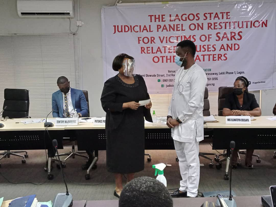 Police brutality victims receive compensation in Lagos