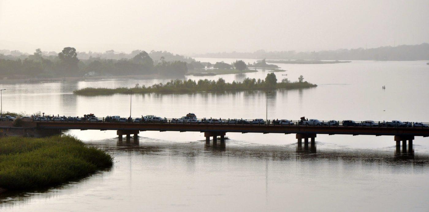 A picture of River Niger in Nigeria.