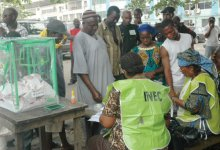 INEC staff on duty