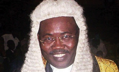 Former Attorney-General,  Bello Adoke
