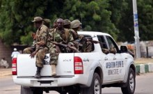 JTF has been busy chasing down the Boko Haram insurgents