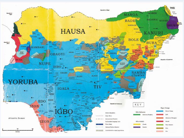 Ethnic-Map-of-Nigeria
