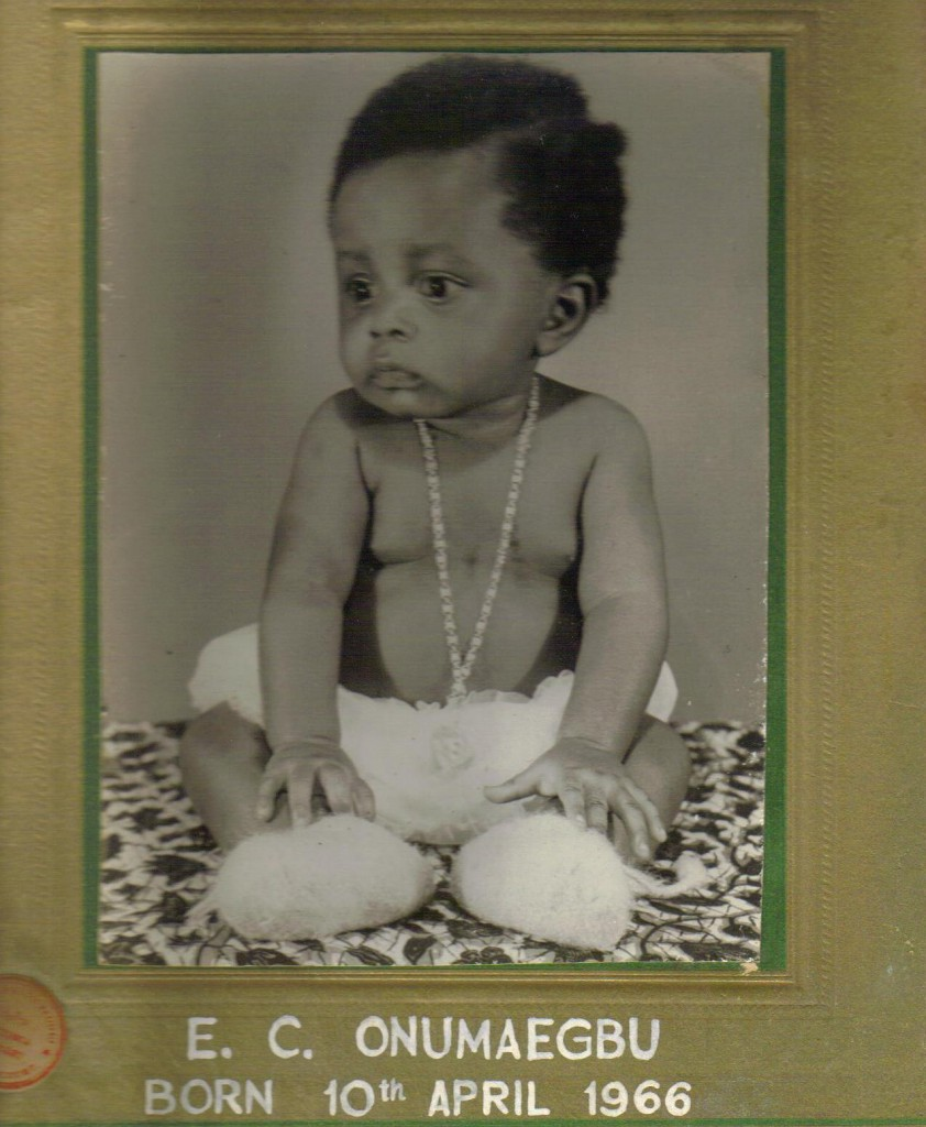Chido Onumah - Baby picture
