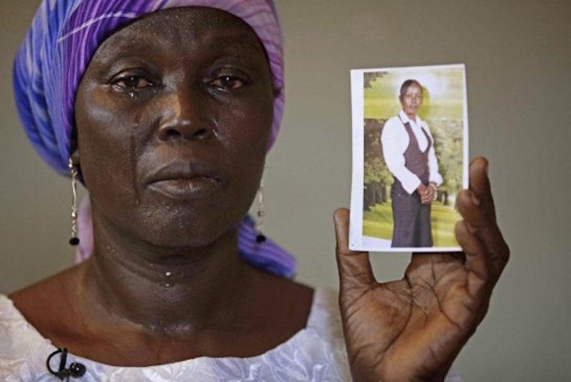 Chibok Mother-Martha Mark