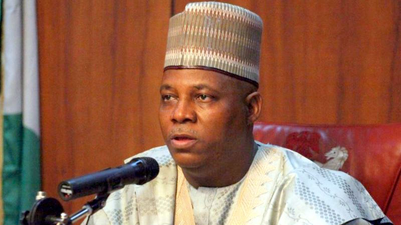 Governor Kassim Shettima of Borno State